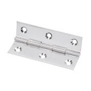 Solid Drawn Brass Hinge Polished Chrome 64 x 34mm Pack of 20