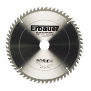 Erbauer TCT Circular Saw Blade 60T 250x30mm