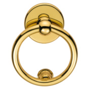Carlisle Brass Door Knocker Polished Brass 172mm