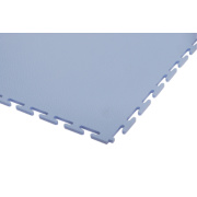 Ecotile uPVC Interlocking Floor Tiles 2m² Light Grey Pack of 8