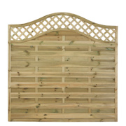 Forest Prague Fence Panels 1.8 x 1.8m Pack of 10