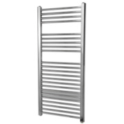 Flomasta Flat Electric Towel Radiator Chrome 1100 x 500mm 351W 1196Btu