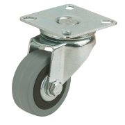 Rubber Tyres Swivel 75mm Pack of 4