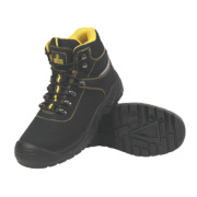 Amblers Bump Cap Safety Boots Black Size 10