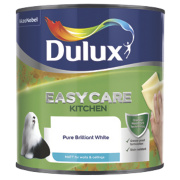 Dulux Kitchen+ Matt Emulsion Paint Pure Brilliant White 2.5Ltr