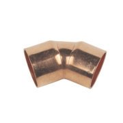 End Feed 45° Elbows 15mm Pack of 10