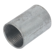 25mm Galvanised Coupler - Pk 10