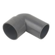 Floplast 90° Conversion Bend 40mm Grey Pack of 5