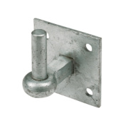 Hook On Plate Spelter Galvanised 19 x 100 x 100mm