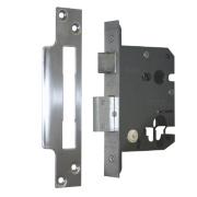 Securefast Euro Cylinder Sashlock Satin Chrome 3