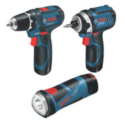 Bosch 10.8V 1.5Ah Li-Ion Cordless Triple Pack