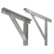 Sabrefix Gallows Brackets Galvanised Hot Dipped 50 x 490mm Pk2