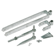 Standard Gate Fitting Kit Galvanised 85 x 610 x 80mm