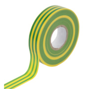 WorkPro Insulation Tape Green/Yellow 19mm x 33m