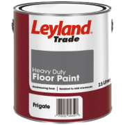 Leyland Trade Heavy Duty Floor Paint Frigate Grey 2.5Ltr