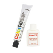 Colorfill Worktop Compound Diamond Black Pack of 2 Pcs