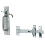 Standard Suffolk Latch Galvanised 50mm