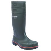 Dunlop Acifort A442631 Heavy Duty Safety Wellington Boots Green Size 10