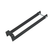 Throw-Over Gate Loops Black 410mm