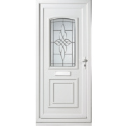 Sherbourne Single-Light Front Door LH uPVC 920 x 2085mm