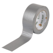 Duck Original Cloth Tape 50 Mesh Silver 50mm x 25m