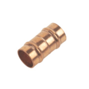 Solder Ring Straight Coupler 10mm Pack of 2