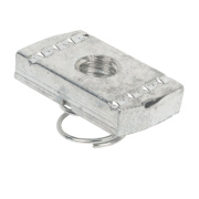 Channel Spring Nut M10 Short