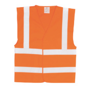 Hi-Vis Waistcoat Orange Large / X Large 52