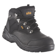 Site Onyx Safety Boots Black Size 7