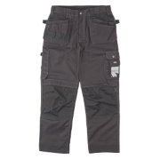 Site Mastiff Work Trousers Black 30