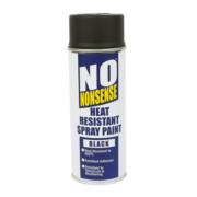 No Nonsense Heat Resistant Spray Paint Black 400ml