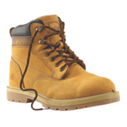 Site Rock Safety Boots Honey Size 8
