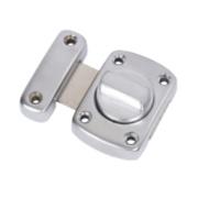 Thumbturn Lock Satin Chrome 56mm