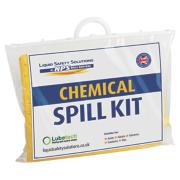 Lubetech 20Ltr Black & White Chemical Spill Response Kit