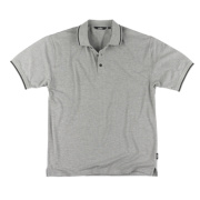 Site Pepper Polo Shirt Grey X Large 46-48