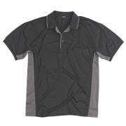 Site Moisture Wicking Polo Shirt Black Medium 40-41