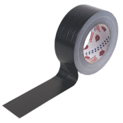 Eurocel Cloth Tape 42 Mesh Black 50mm x 50m