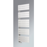Oceanus Open Vertical Designer Towel Radiator White 1495 x 600mm 2866BTU
