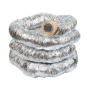 Manrose Aluminium Insulated Ducting Hose Silver 10m x 102mm