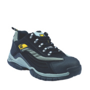 Cat Moor Safety Trainers Black Size 7