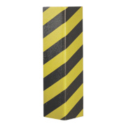 Mottez Protective External Corner Foam Strip Grey/Yellow