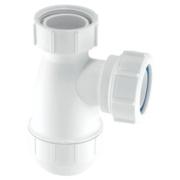 McAlpine Basin Bottle Trap 32mm White
