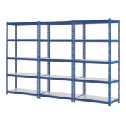 3 Shelving Bays 923 x 619 x 1830mm