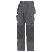 Snickers Rip-Stop Pro-Kevlar Floorlayer Trousers Grey/Black 41