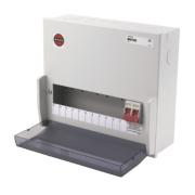 WYLEX 11-Way Metal Enclosure Main Switch Consumer Unit