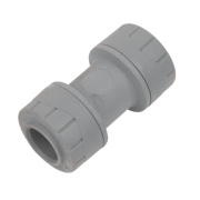 PolyPlumb Straight Coupler 15mm