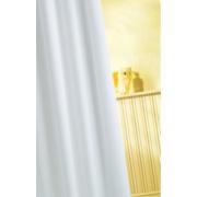 Croydex Shower Curtain White 1800 x mm