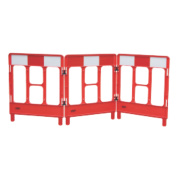 JSP 3-Gate Workgate Barrier Red