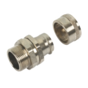 Adaptaflex 25mm Straight Fitting Swivel External Thread S Type Pk10