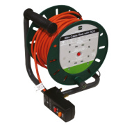 Masterplug Cable Reel & RCD 4G 240V 25m